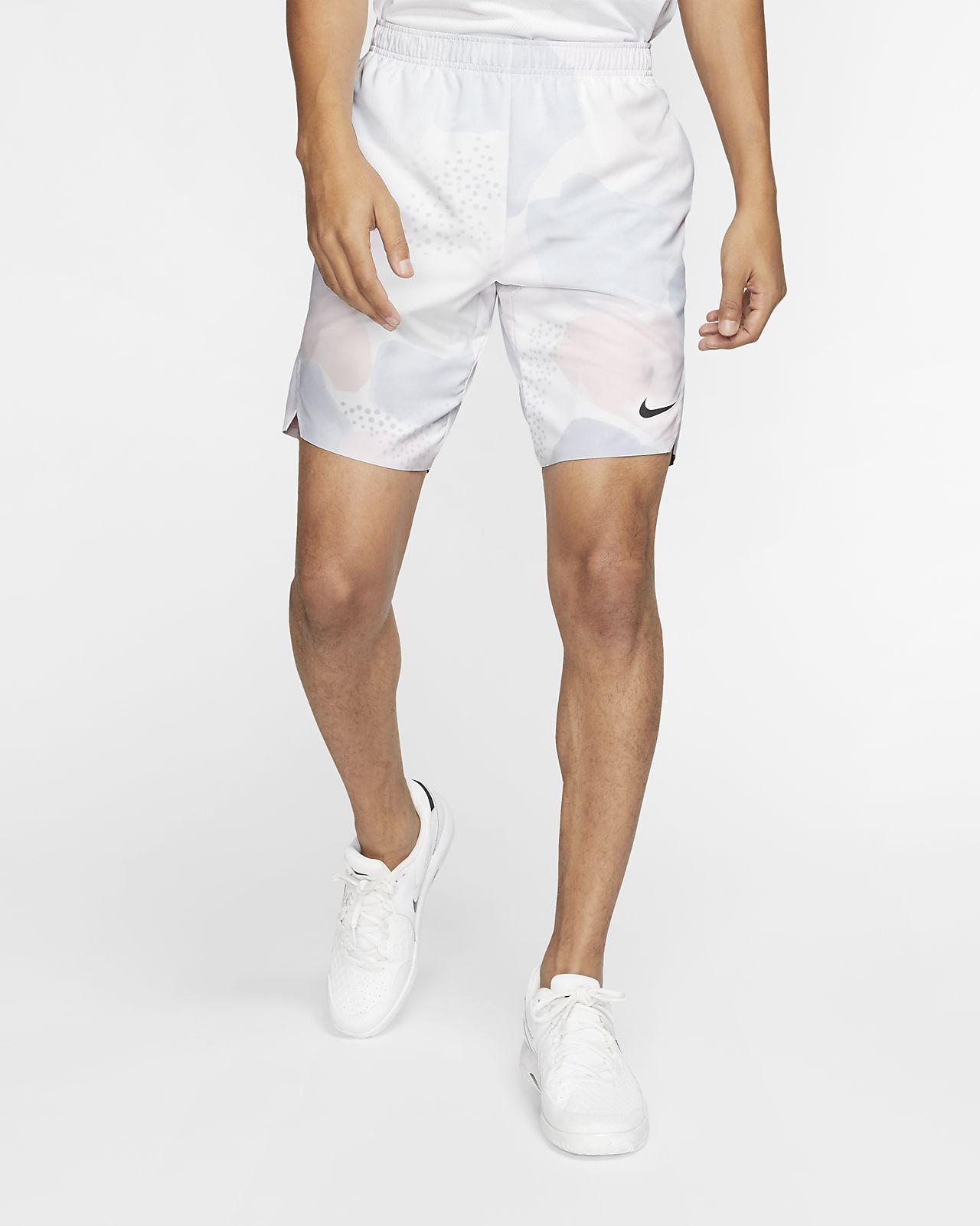 Pánské tenisové kraťasy s potiskem NikeCourt Flex Ace
