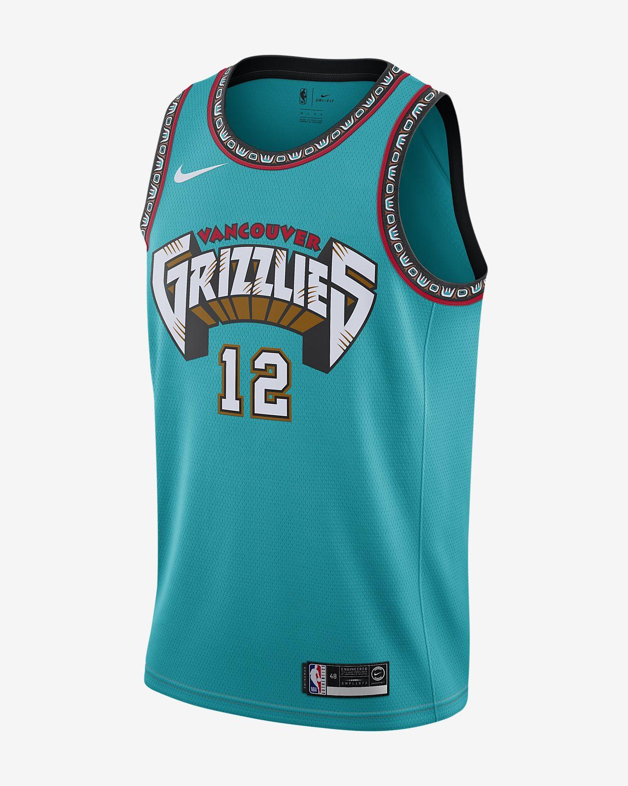 Ja Morant Grizzlies Classic Edition Nike Nba Swingman Jersey