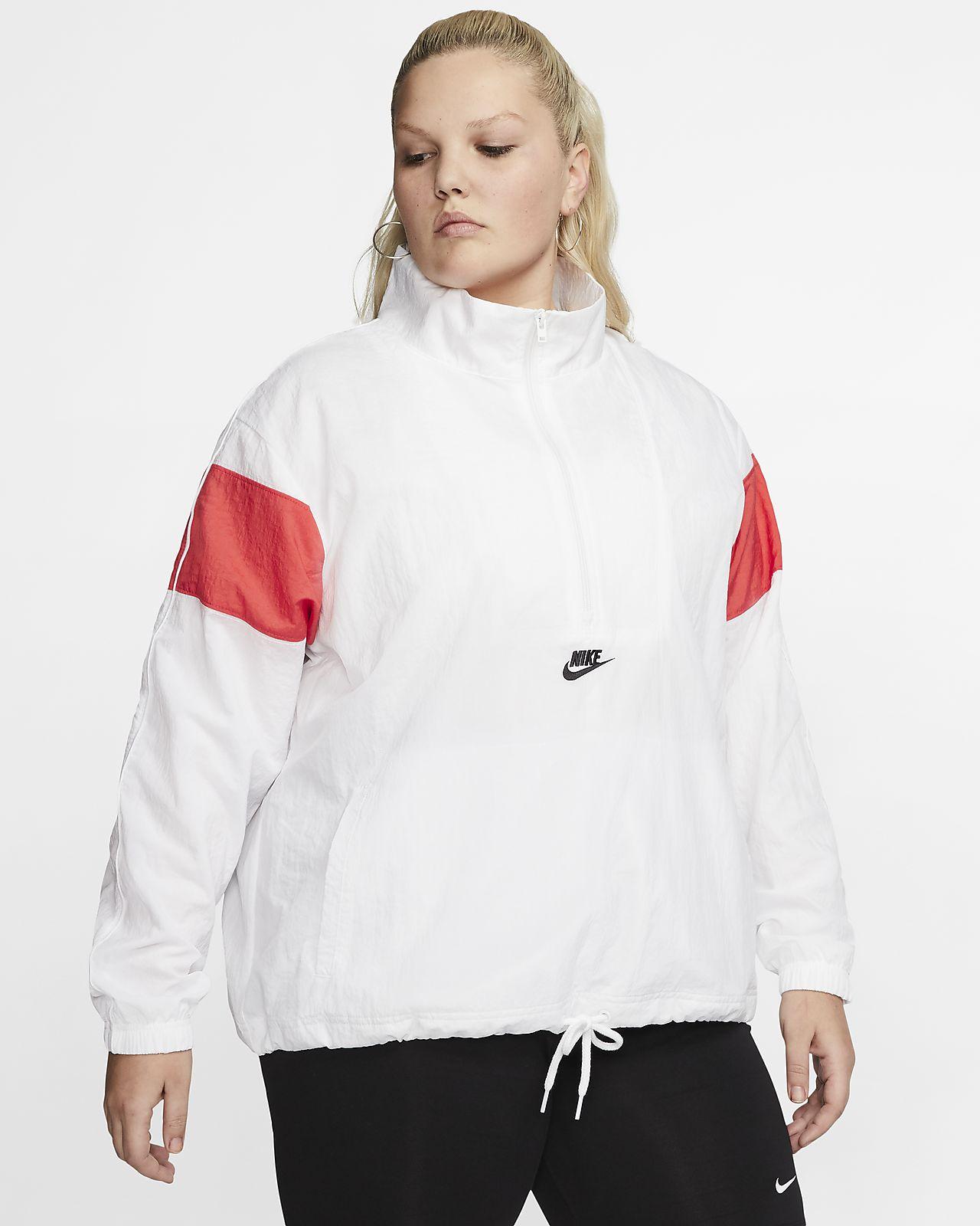 Nike Sportswear Heritage Women's Woven Jacket (Plus Size)