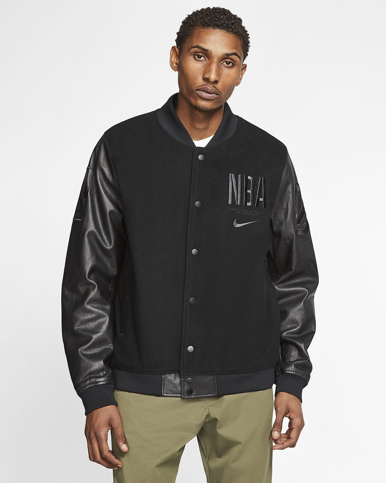 "Nike Courtside ""Paris"" NBA Destroyer férfikabát"