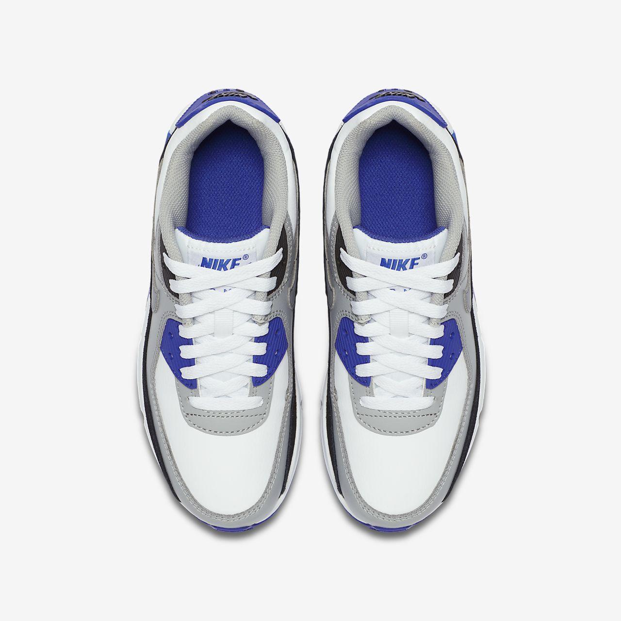 Nike Air Max 90 LTR WitGrijsBlauw | CD6864 103