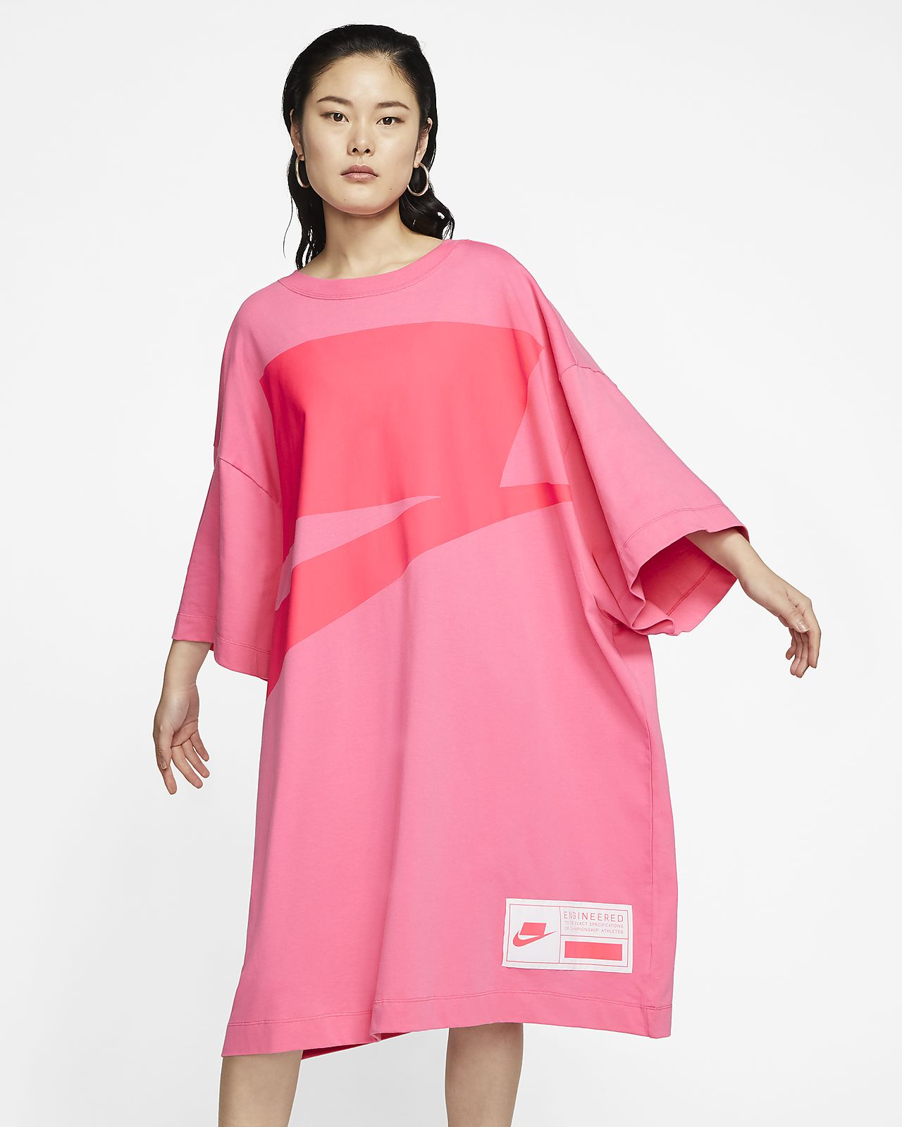 Robe oversize à manches courtes Nike Sportswear NSW pour Femme