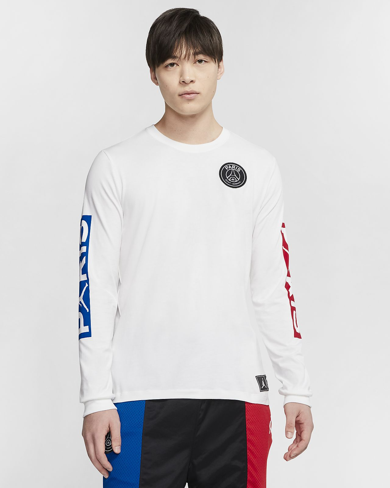 Nike Club PSG Paris Saint Germain Men's Long Sleeve Crew