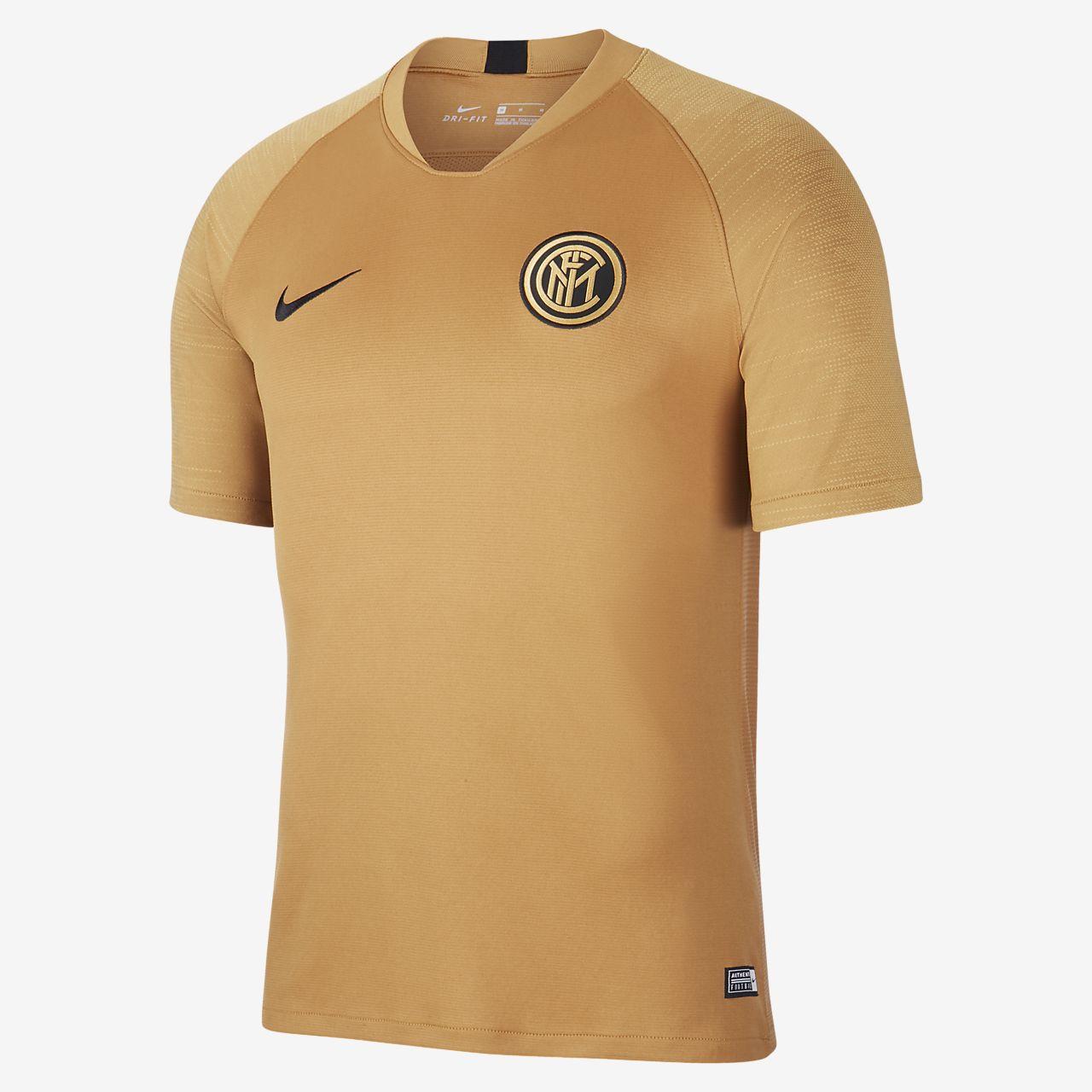 Nike Breathe Inter Mailand Strike Kurzarm Fußballoberteil für Herren