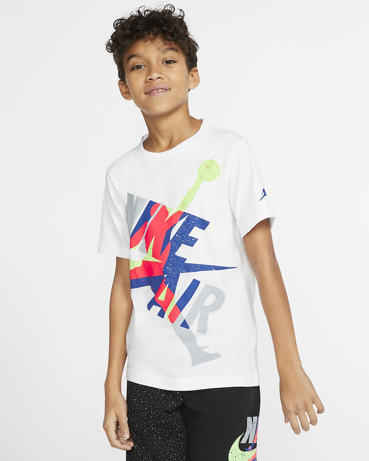 Jordan Jumpman Classics Big Kids' (Boys') Short-Sleeve T-Shirt