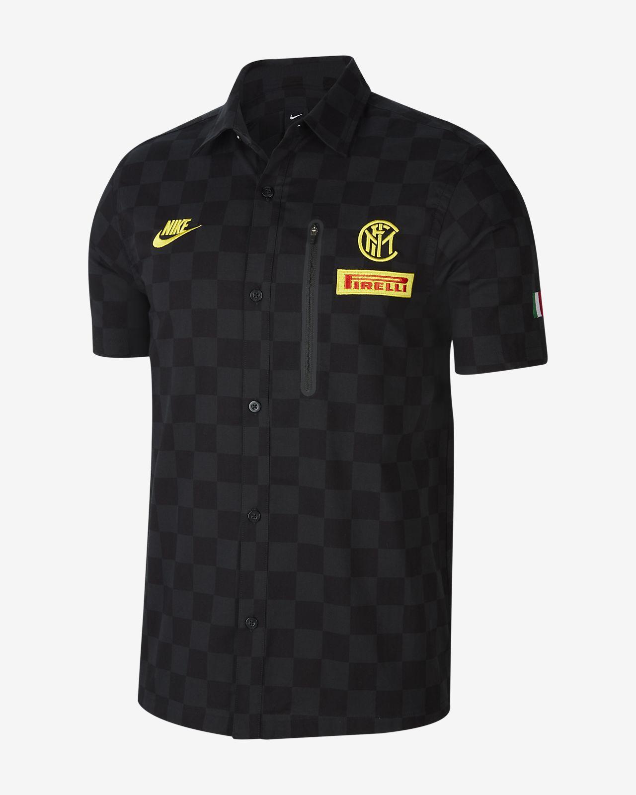 Inter Milan Team Crew Men's Short-Sleeve Top