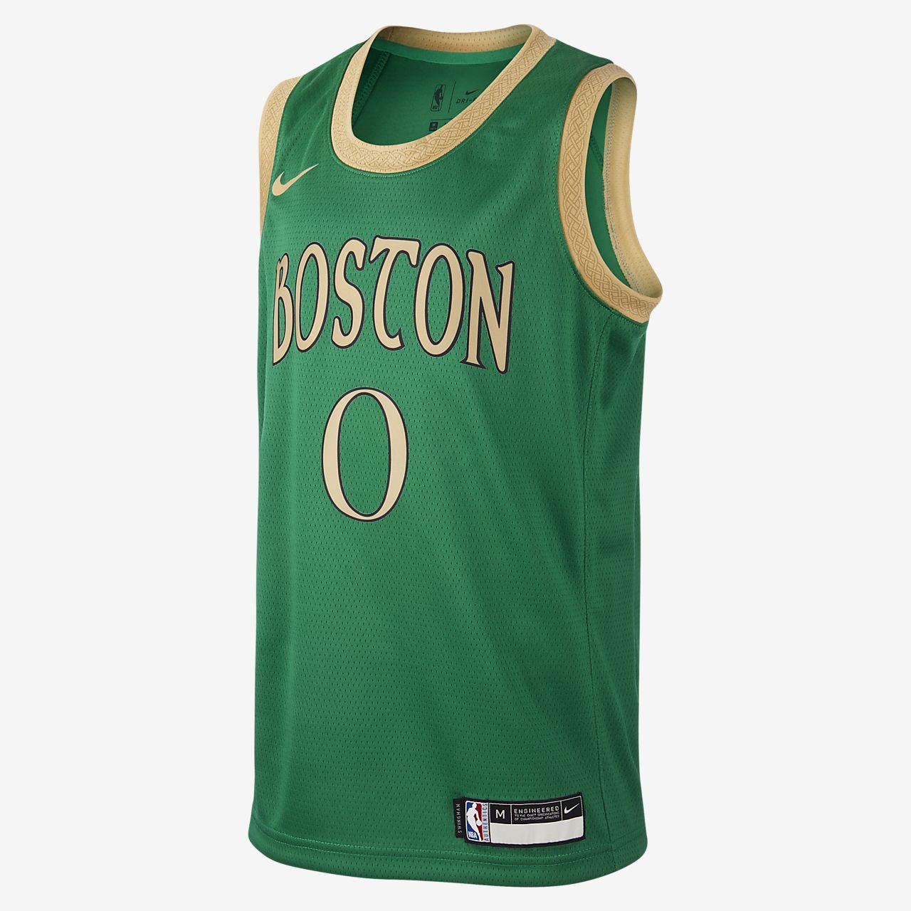 Celtics City Edition Nike NBA Swingman trøje til store børn