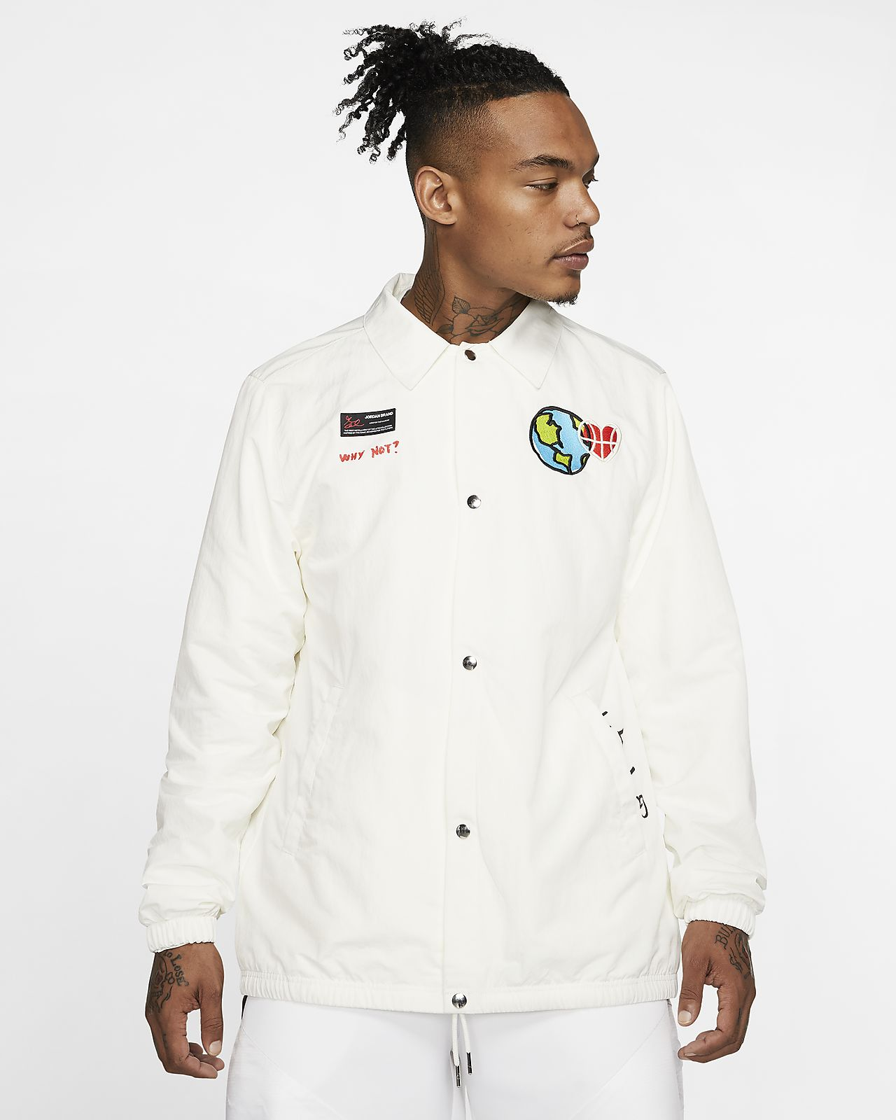 MENS AND BOYS WHITE S.B JACKETS