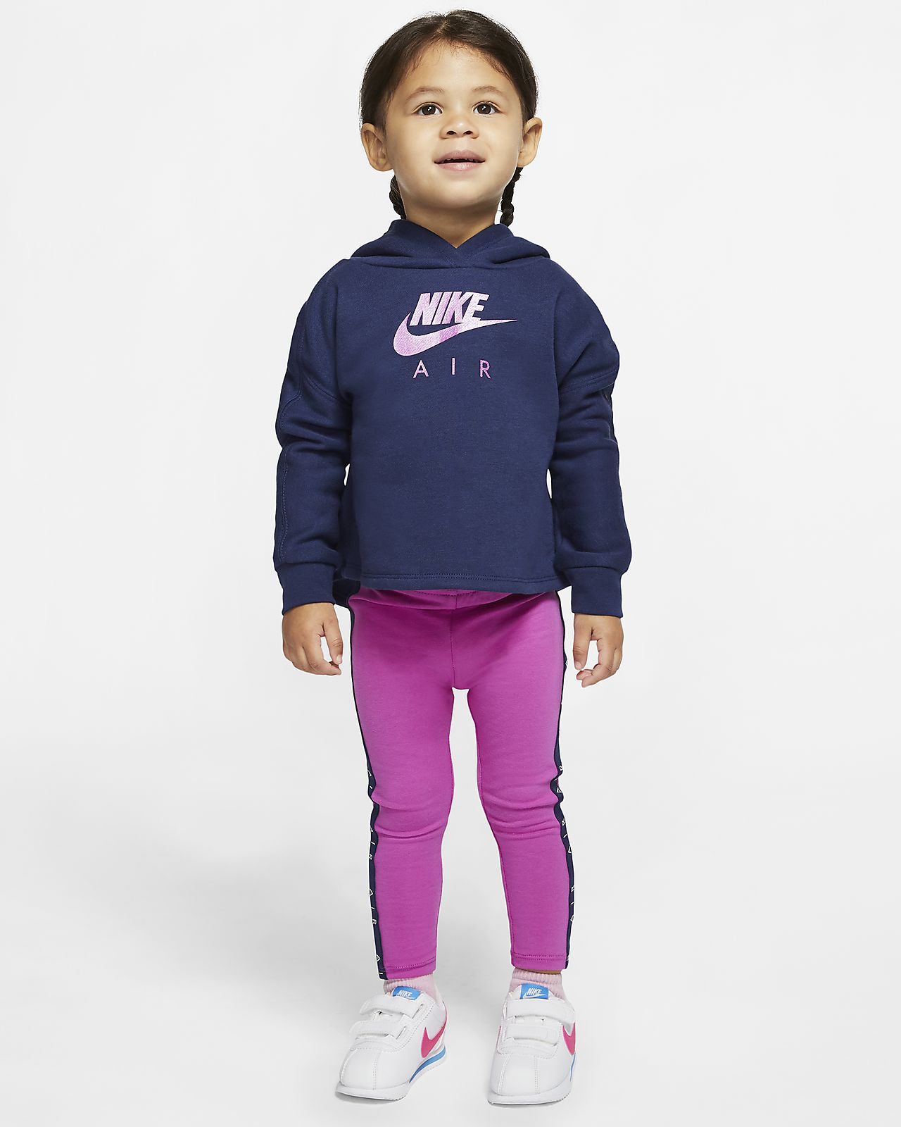 Nike Air Baby (12-24M) Hoodie and Leggings Set