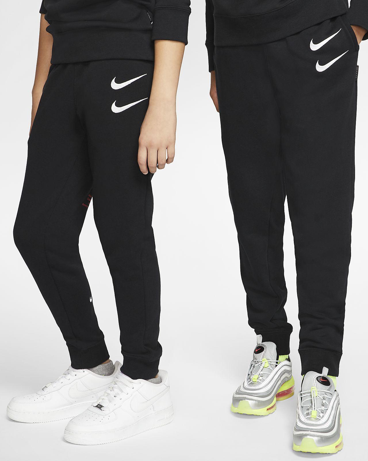 Nike Sportswear Swoosh Older Kids' Trousers