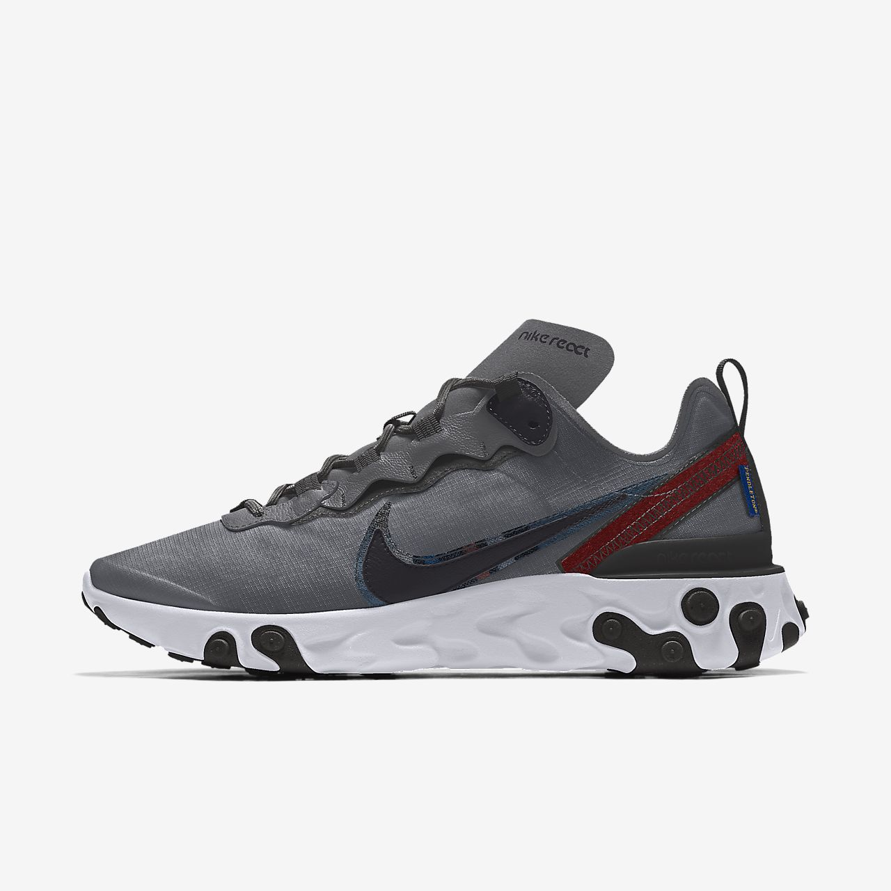 Nike React Element 55 Pendleton By You Custom Women's Shoe