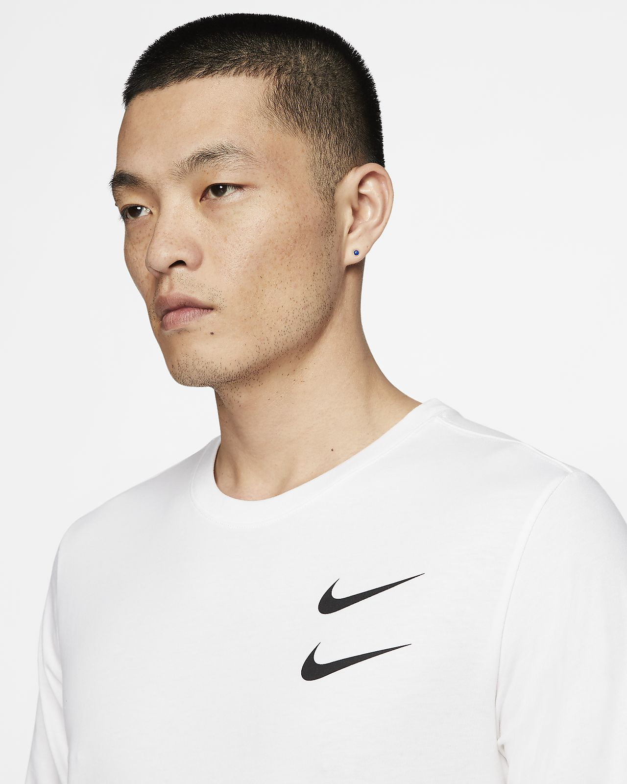 Nike Sportswear Swoosh Men's Long Sleeve T Shirt