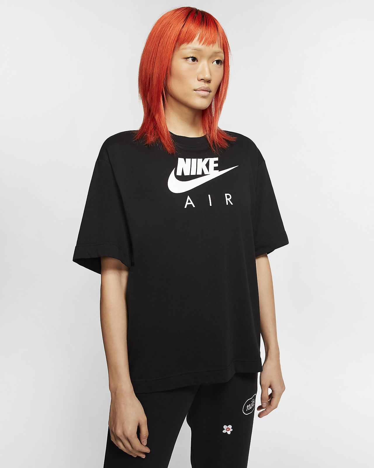 Top a manica corta Nike Air - Donna