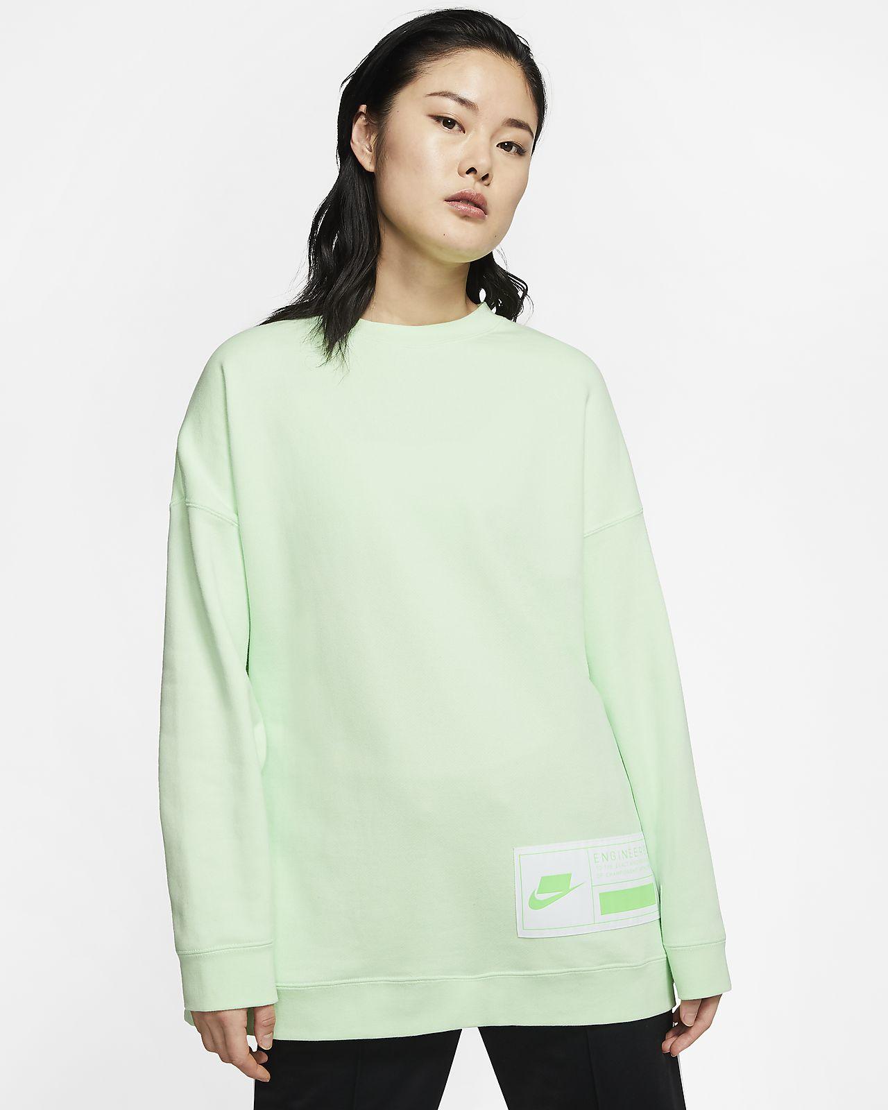 Fleecetröja med rund hals Nike Sportswear NSW