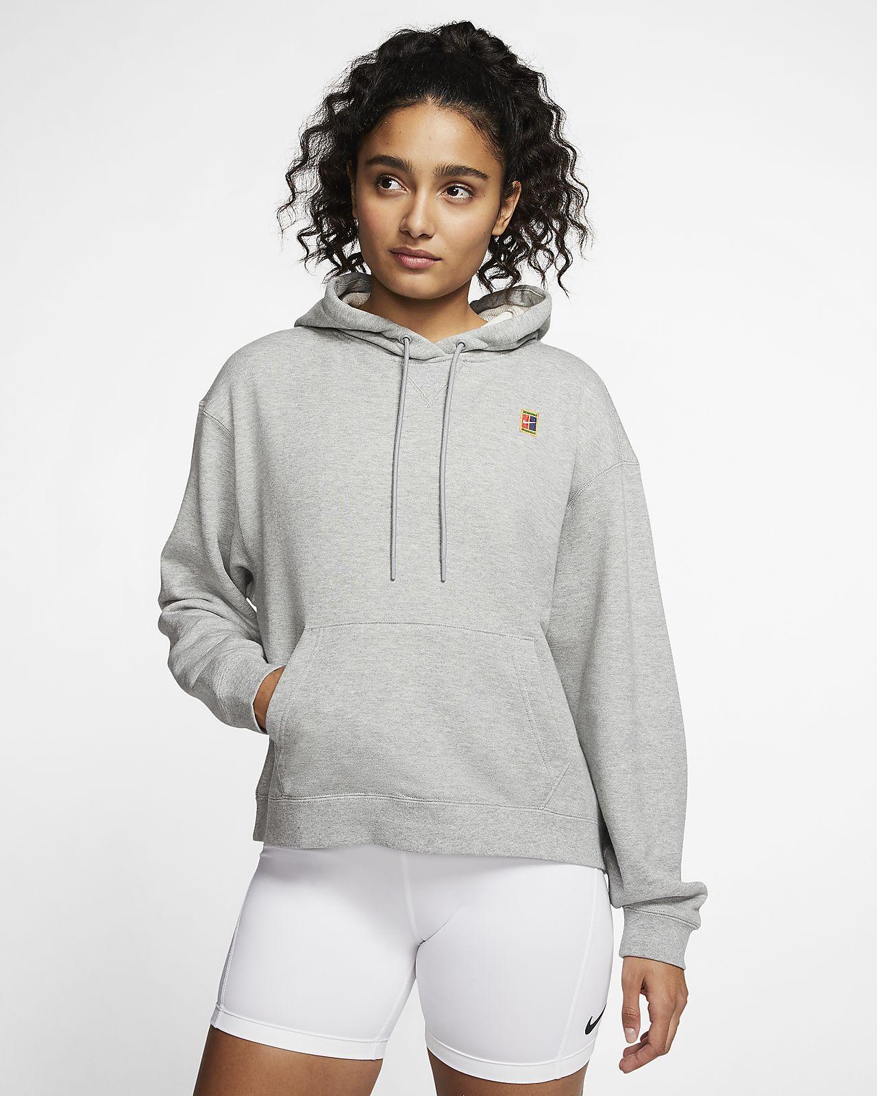 Γυναικεία μπλούζα με κουκούλα για τένις NikeCourt