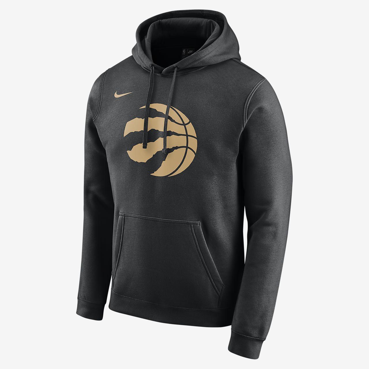 Pánská mikina Nike NBA Raptors City Edition Logo s kapucí