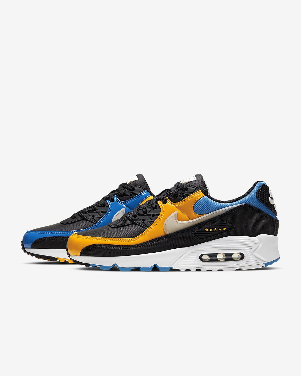Nike Air Max 90 Premium CK0902 001 Black  Orange Jungle