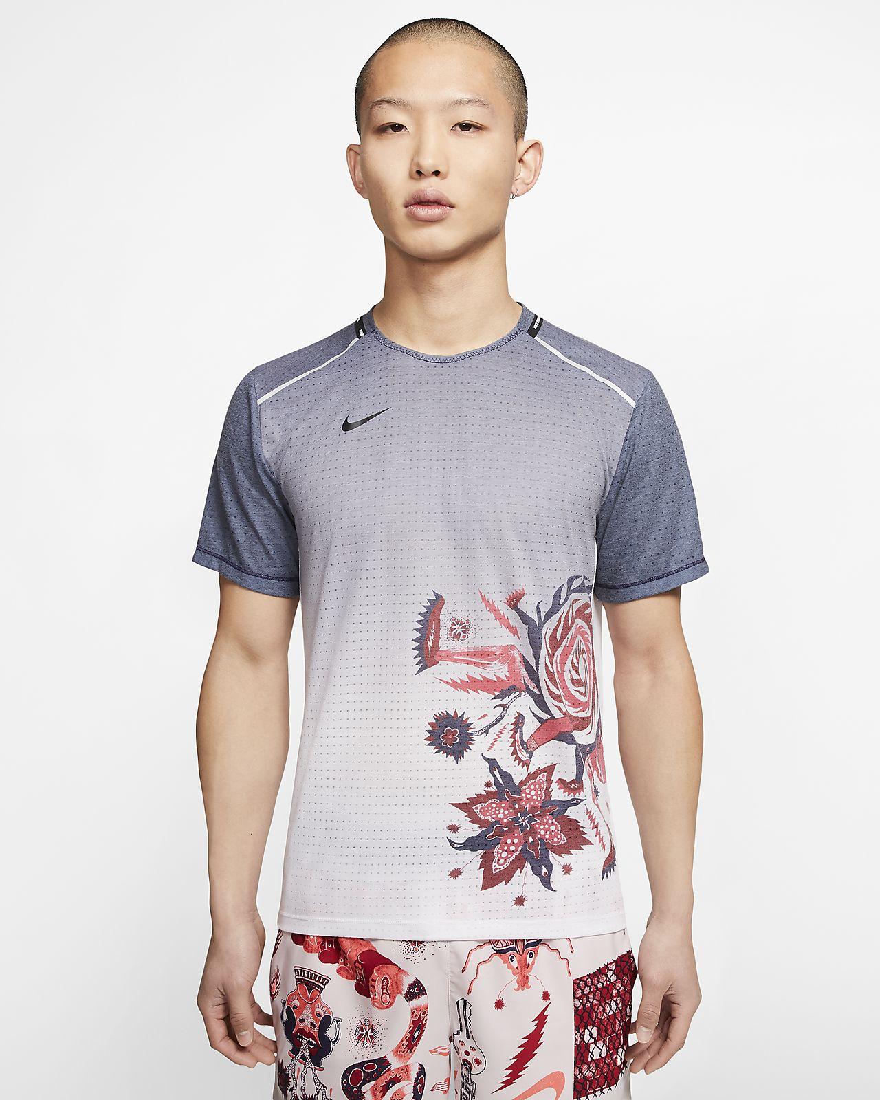 เสื้อวิ่งผู้ชาย Nike Rise 365 Wild Run