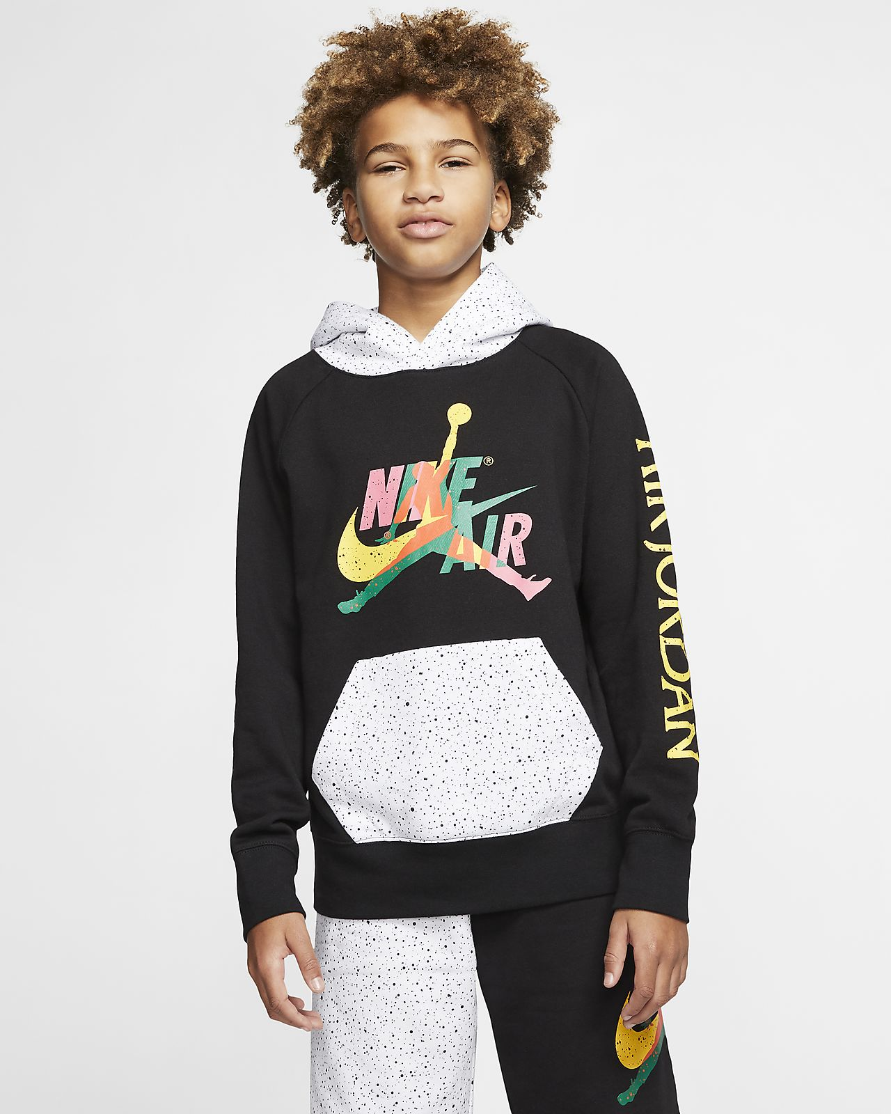 Jordan Jumpman Classics Big Kids' (Boys') Pullover Hoodie
