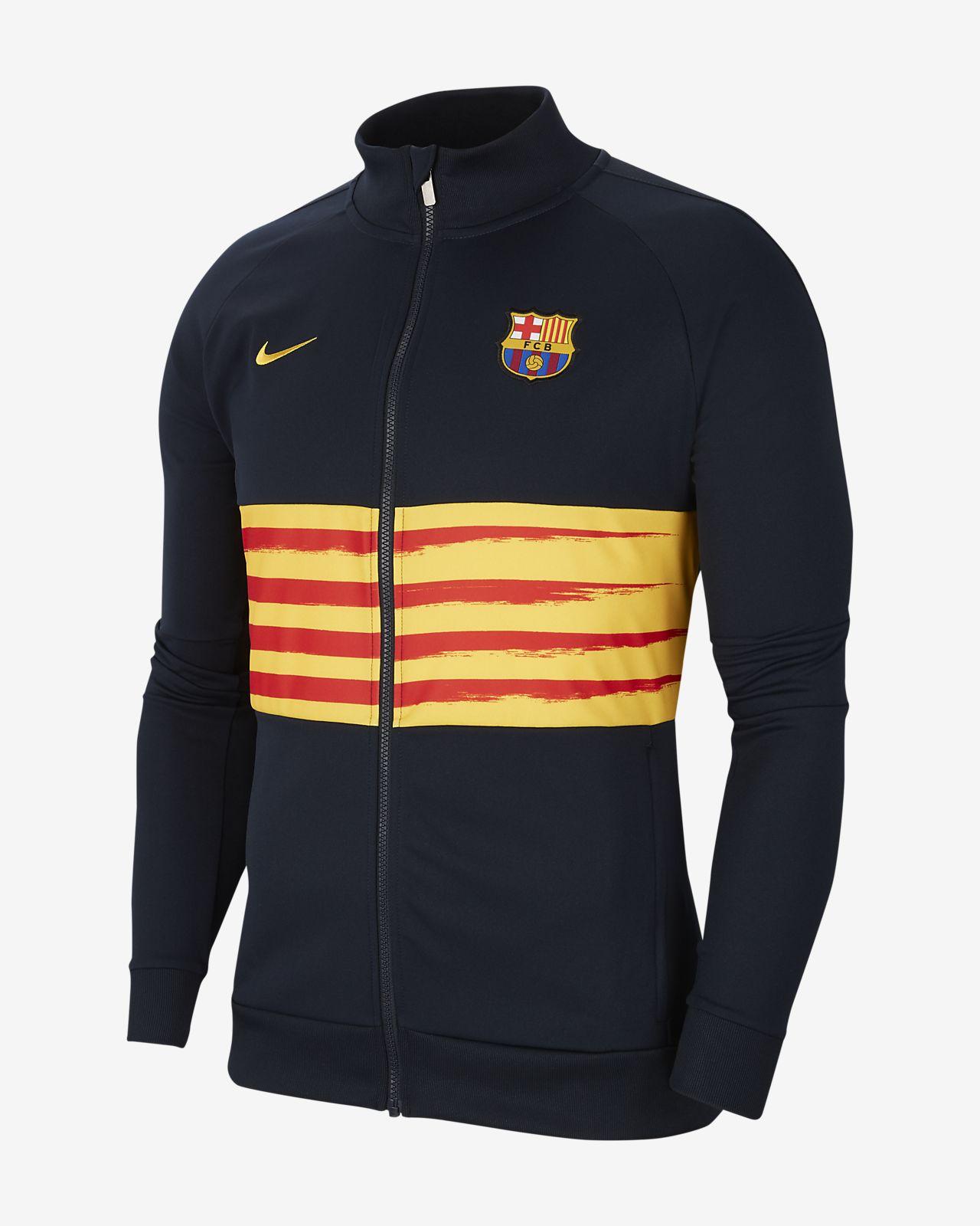 FC Barcelona Herren Fußballjacke