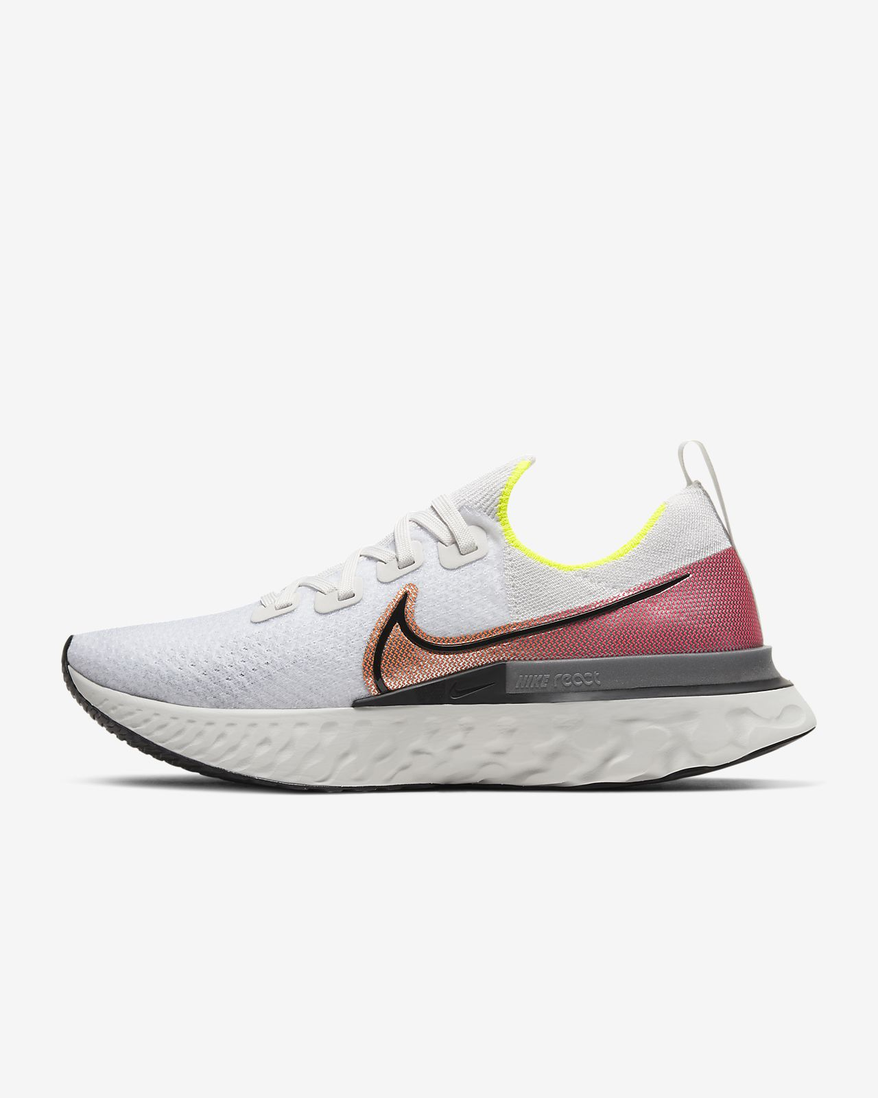 new lower prices details for new lifestyle Nike React Infinity Run Flyknit Men's Running Shoe. Nike GB