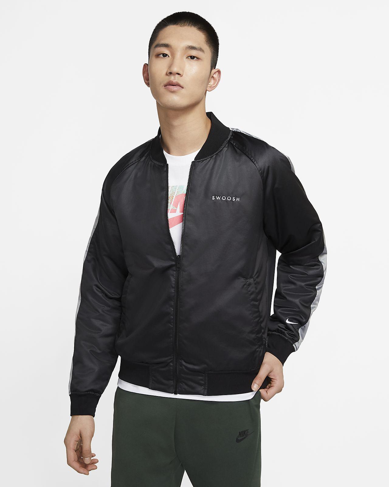 Nike Sportswear Swoosh 男子梭织夹克
