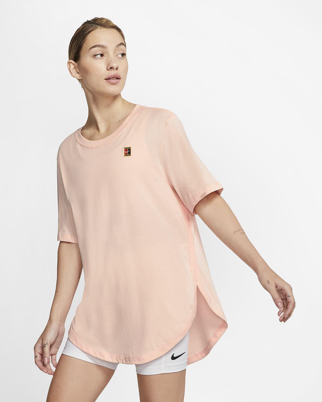 Dámské tenisové tričko NikeCourt