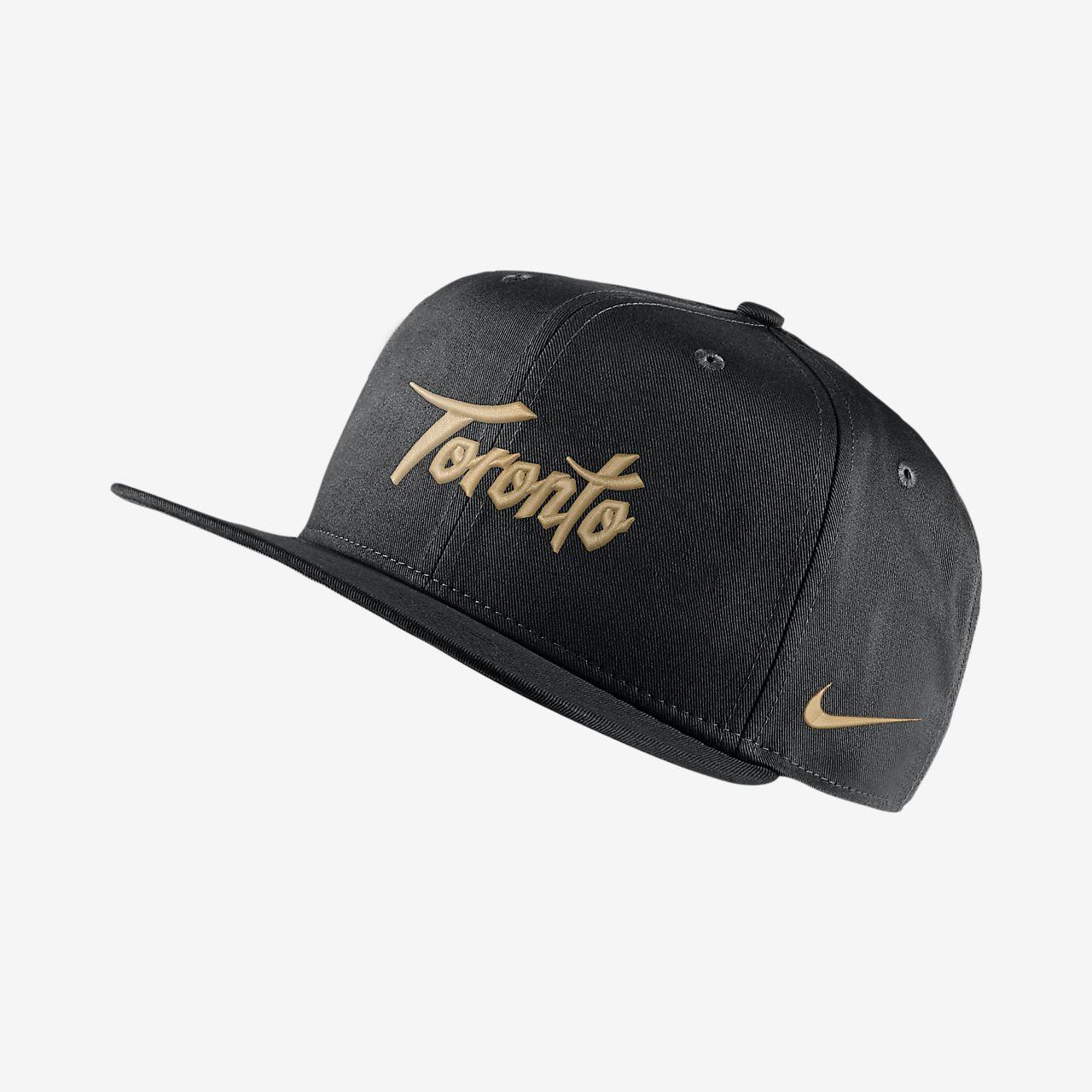 Toronto Raptors City Edition Nike Pro NBA Adjustable Hat