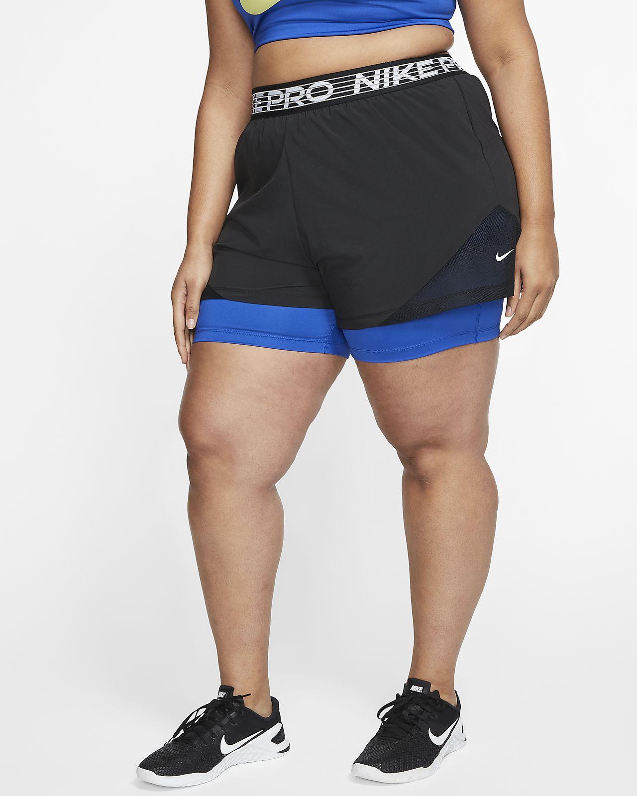 Nike Pro Flex Women's 2 in 1 Shorts (Plus Size)