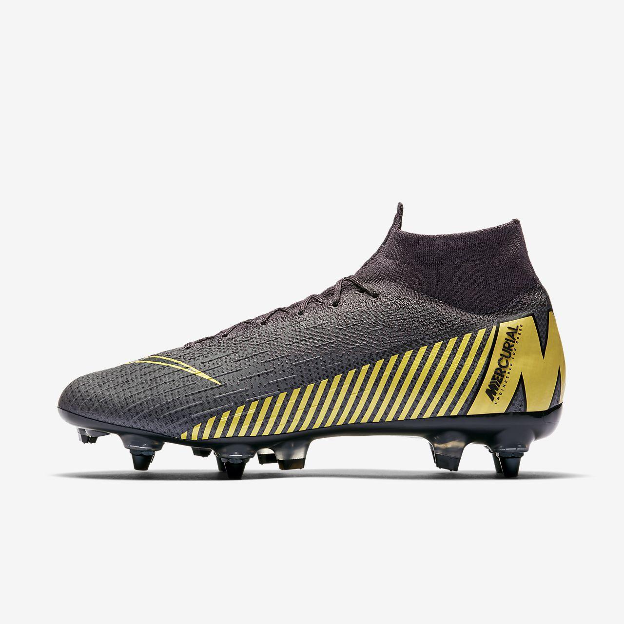 Футбольные бутсы для игры на мягком грунте Nike Mercurial Superfly 360 Elite SG-PRO Anti-Clog