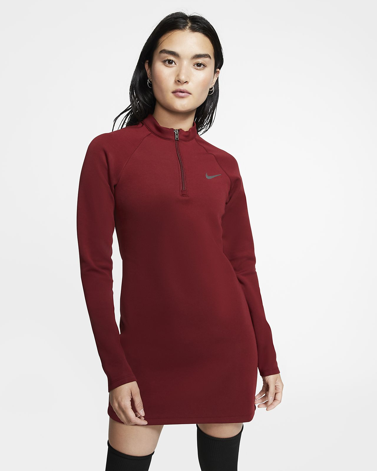 Nike Sportswear Vestido de manga larga - Mujer