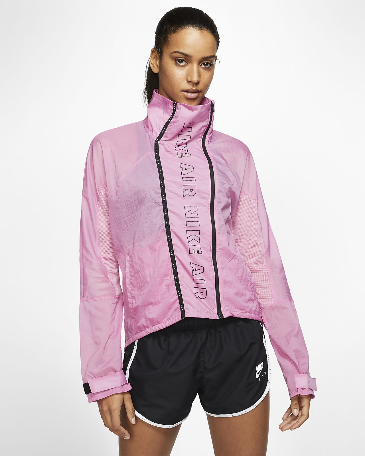 Damska kurtka do biegania z zamkiem na całej długości Nike Air