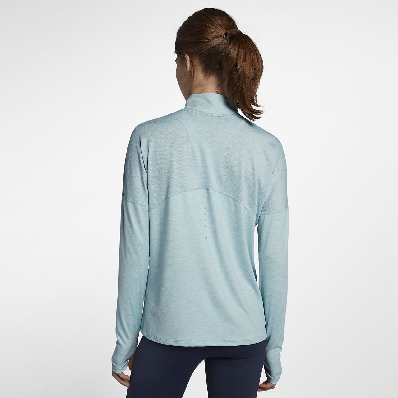 f4d9088b20bc Nike Dri-FIT Element Women s Long-Sleeve Running Half-Zip Top. Nike ...