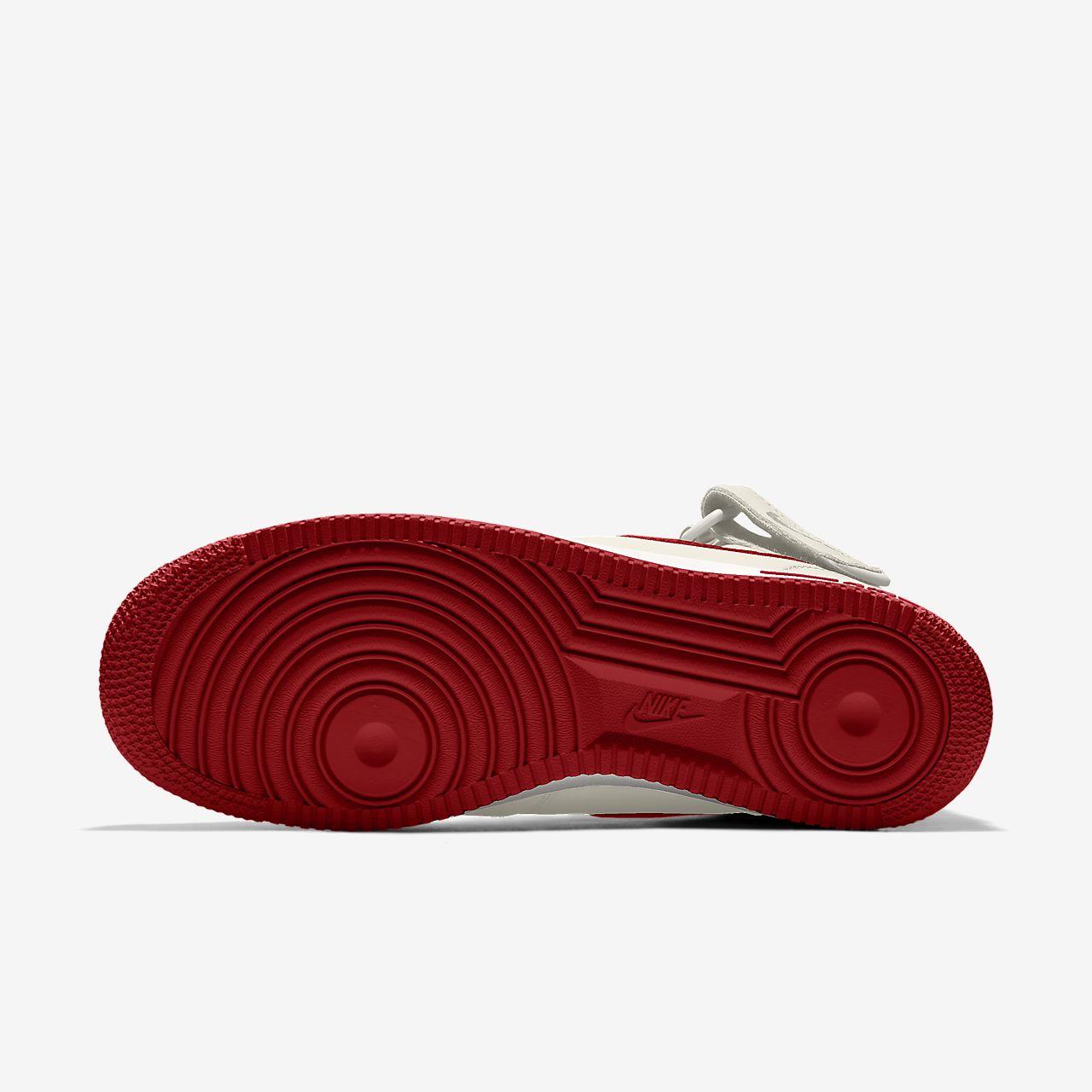 Nike Air Force 1 Mid By You Custom Big Kids' Shoe
