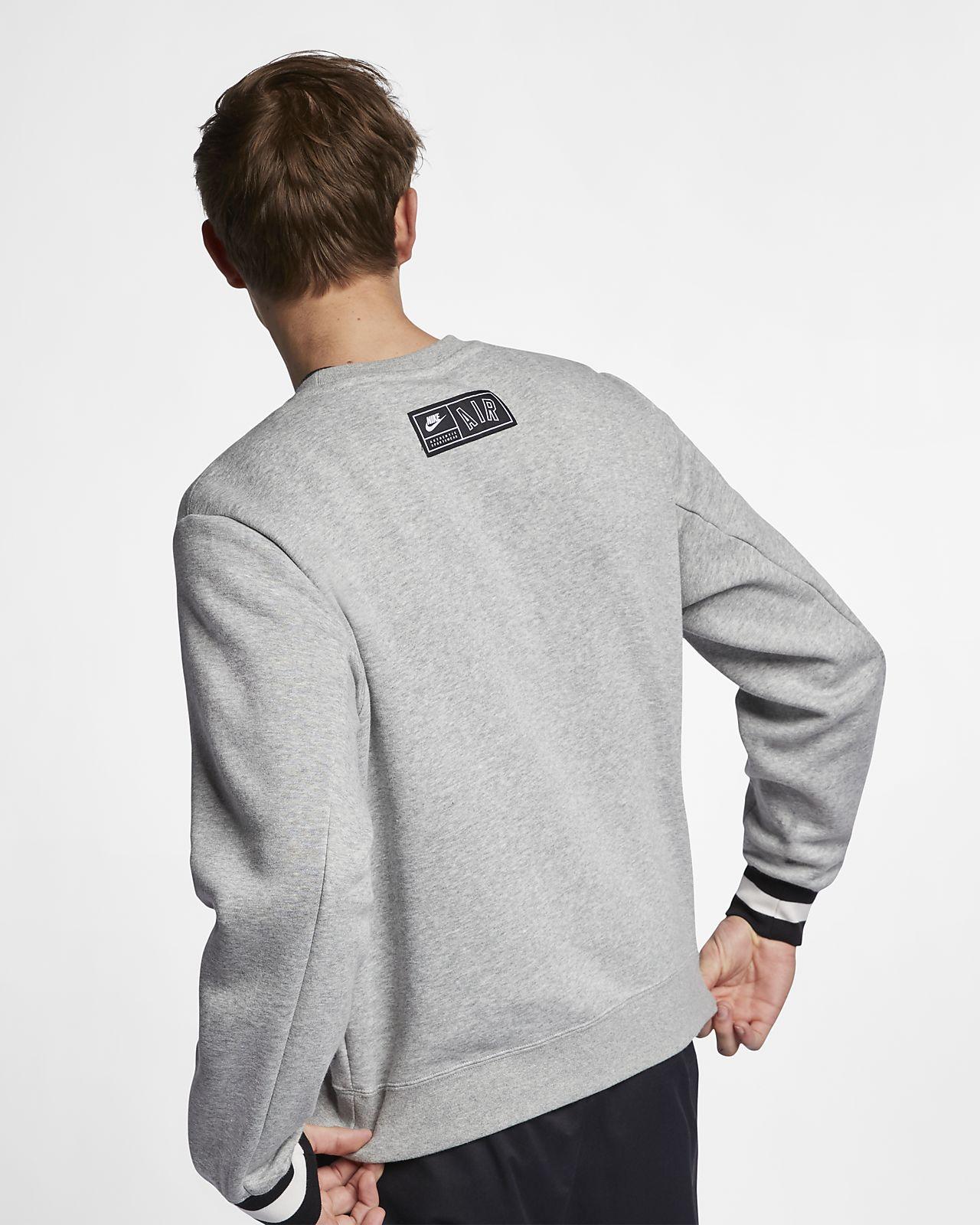 3c57531cf3220c Nike Air Men s Fleece Crew. Nike.com ID