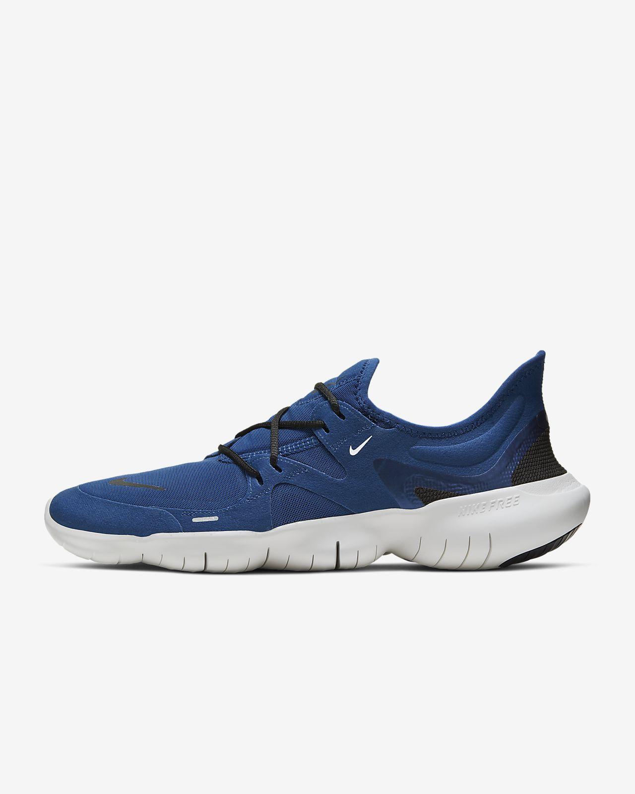 nike free run salg sort, Nike Free Run 5.0 tre Fur Sko svart