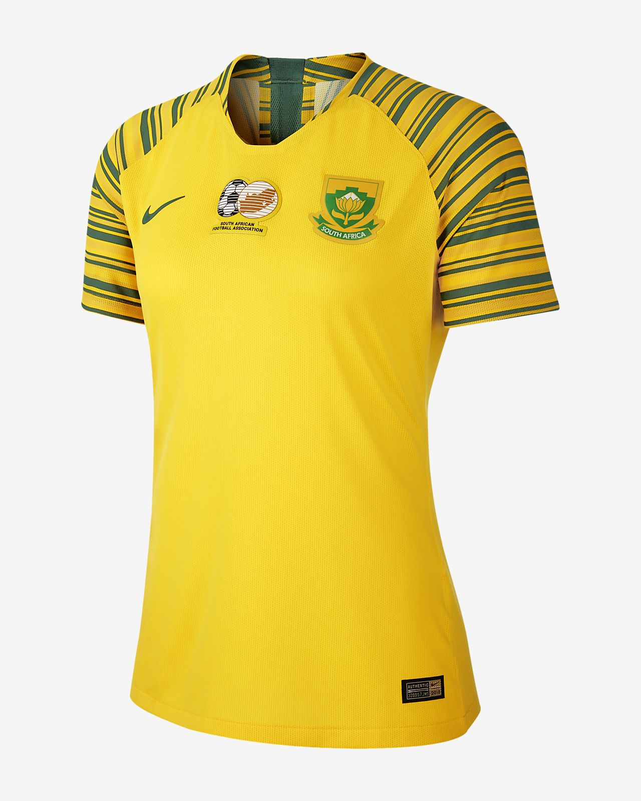 Maillot de football South Africa 2019 Home pour Femme