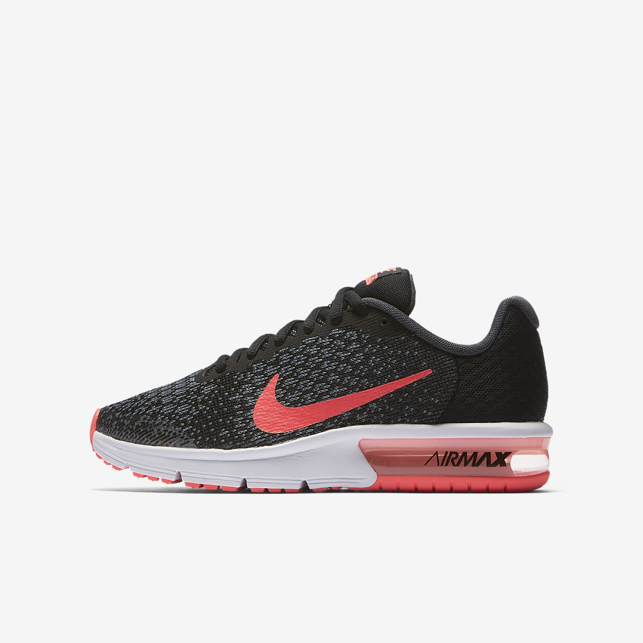 Scarpe Nike Air Max Sequent 2 Donna nero [Black Racer Pink Anthracite]