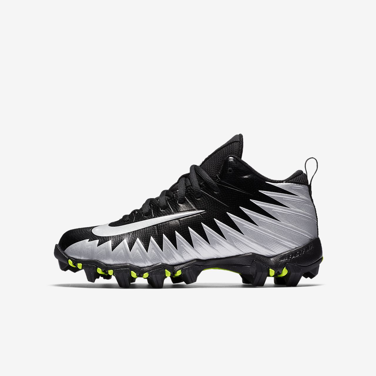hot sale online 8d848 3c5b3 ... Nike Alpha Menace Shark LittleBig Kids Football Cleat
