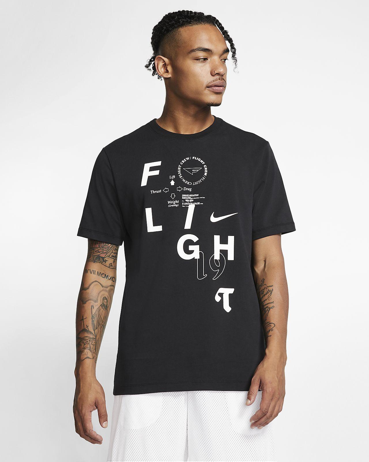 Męski T-shirt do koszykówki Nike