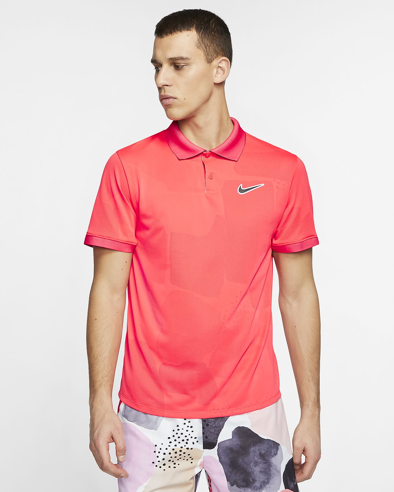 NikeCourt Breathe Advantage Men's Tennis Polo