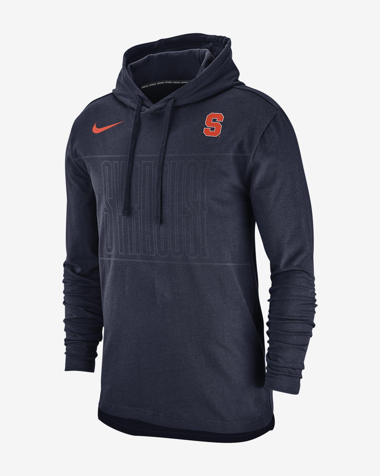 Nike College Syracuse Men S Pullover Hoodie