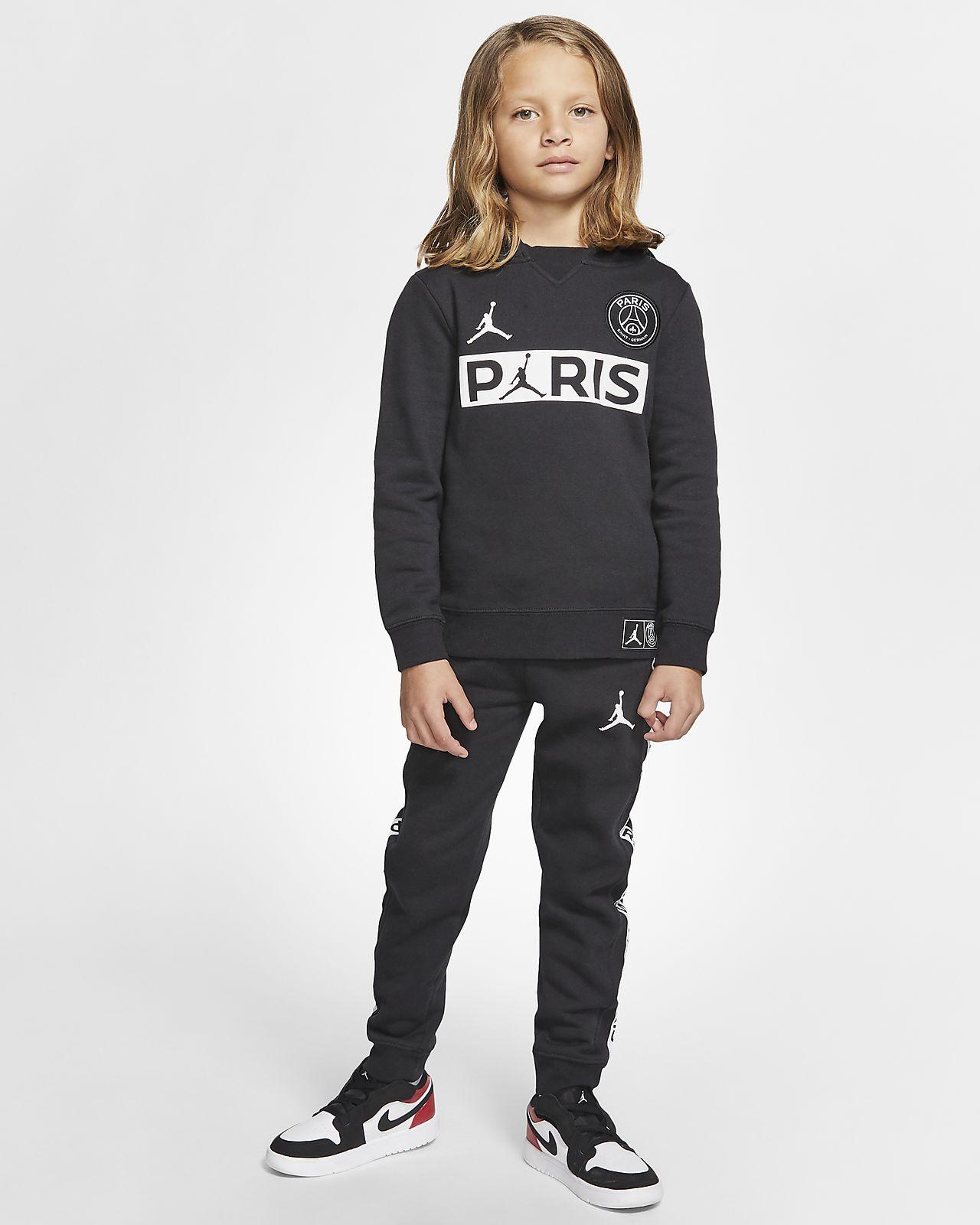 Completo in 2 pezzi con felpa con cappuccio e pantaloni jogger PSG - Bambini