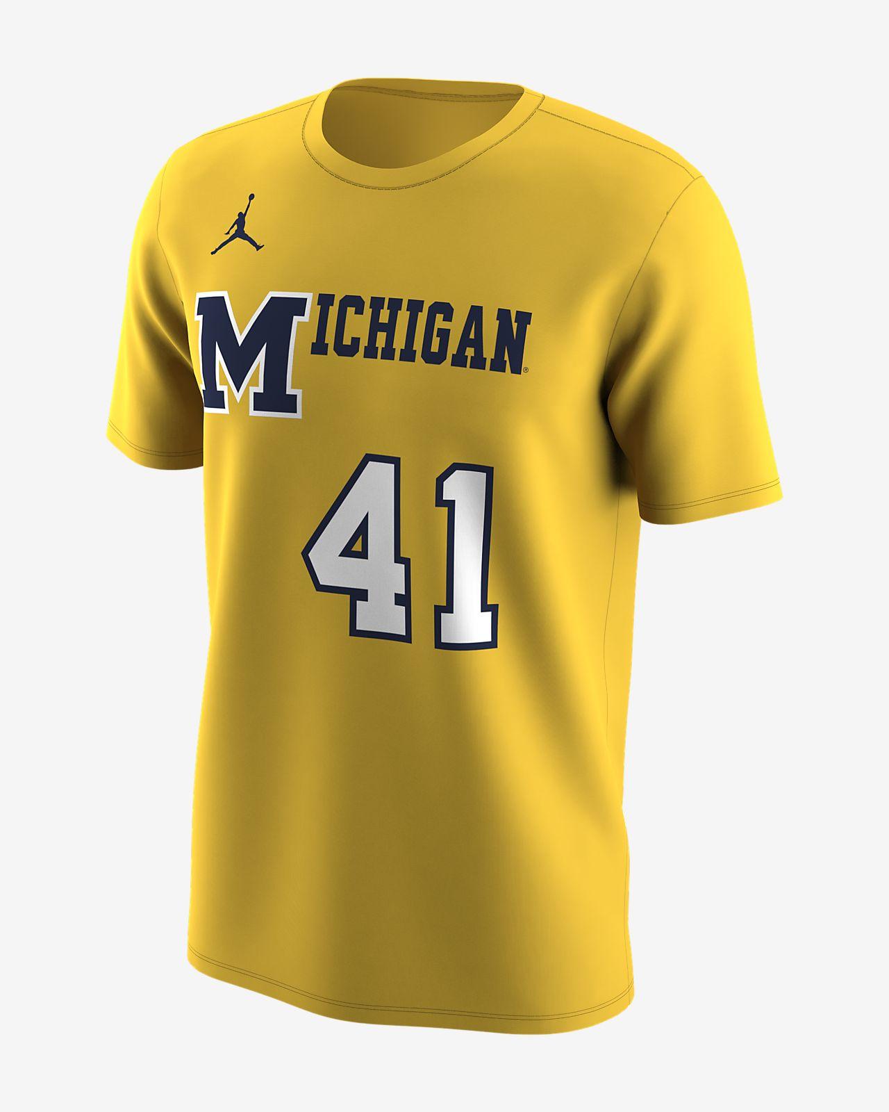 b2a309f6691ec2 Jordan College Retro (Michigan) Men s T-Shirt. Nike.com