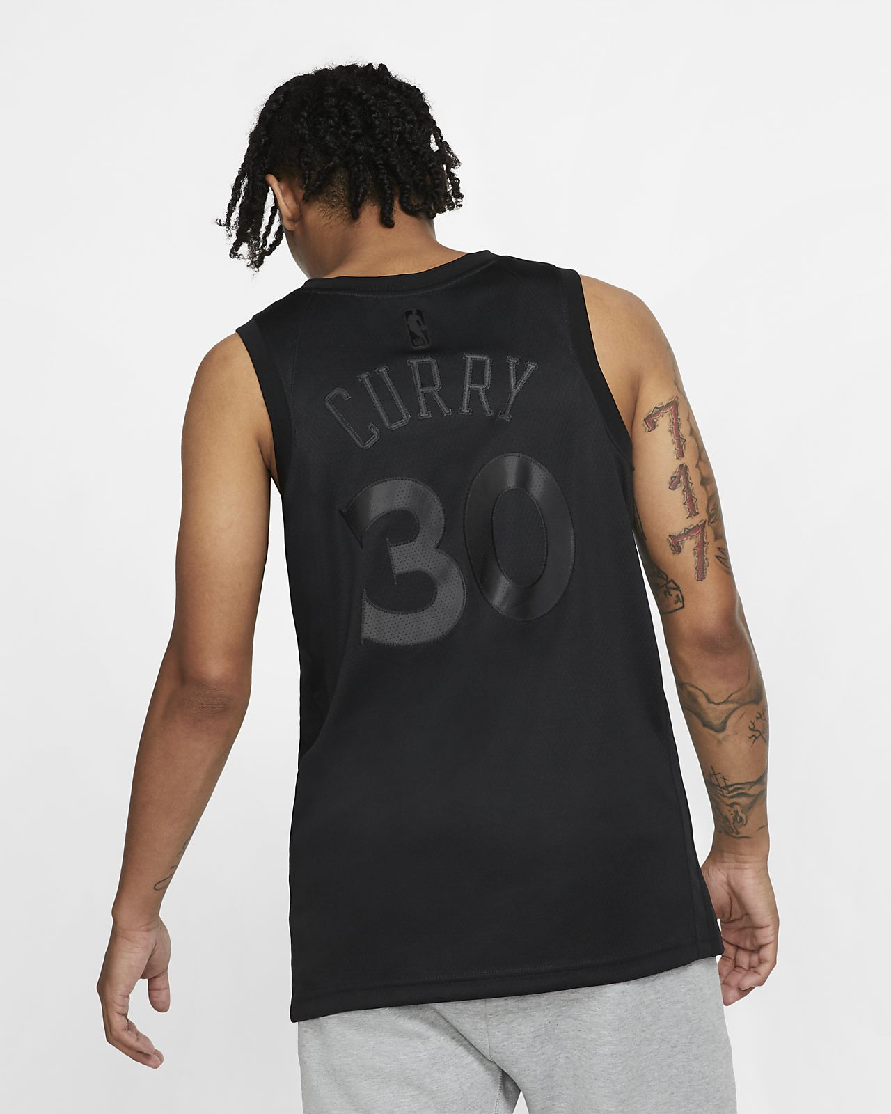 new concept 7a4f8 3a319 Stephen Curry MVP Swingman (Golden State Warriors) Men's Nike NBA Connected  Jersey