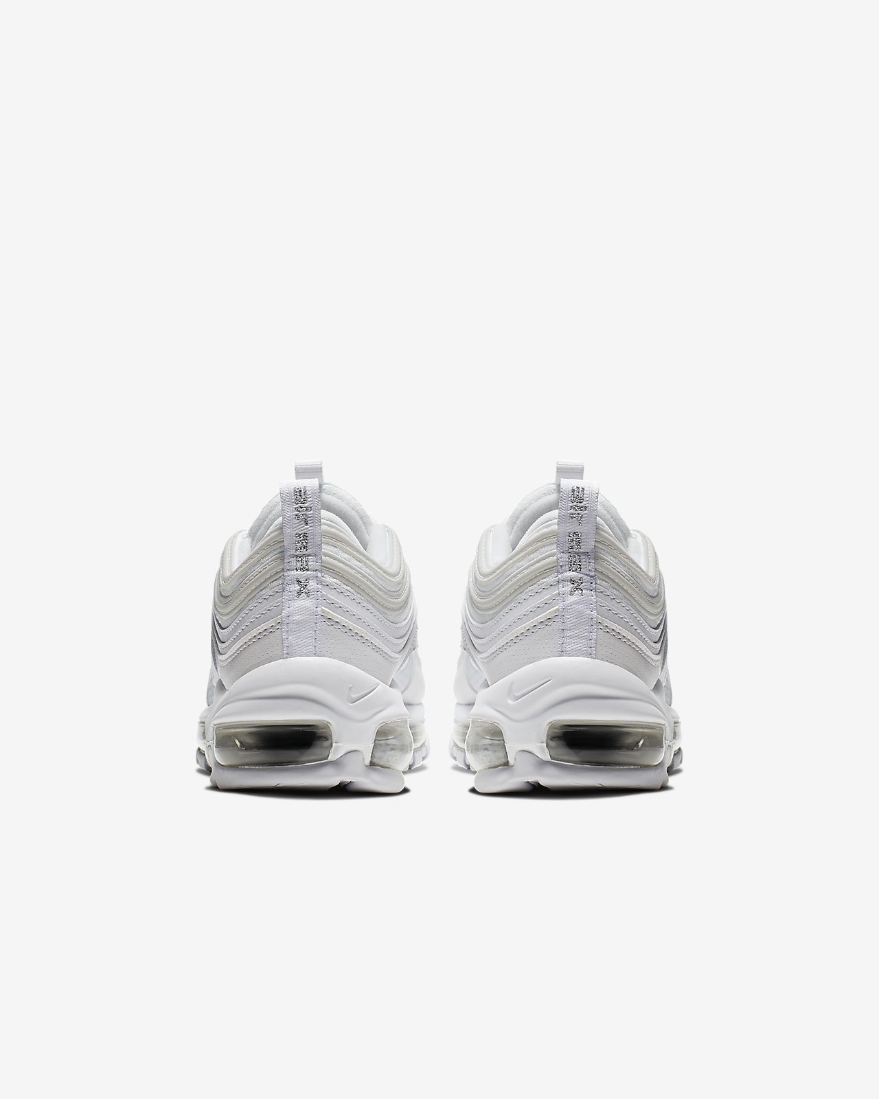 Details about NIKE AIR MAX 97 921522 104 TRIPLE WHITE SILVER YOUTH BOYS GIRLS ALL SIZE AM97 OG