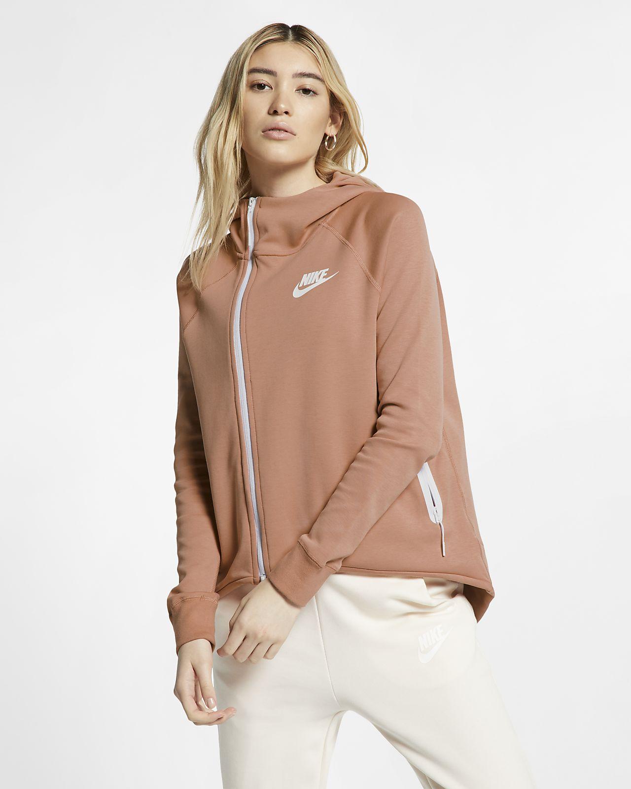 Nike Sportswear Tech Fleece Damen-Poncho mit durchgehendem Reißverschluss
