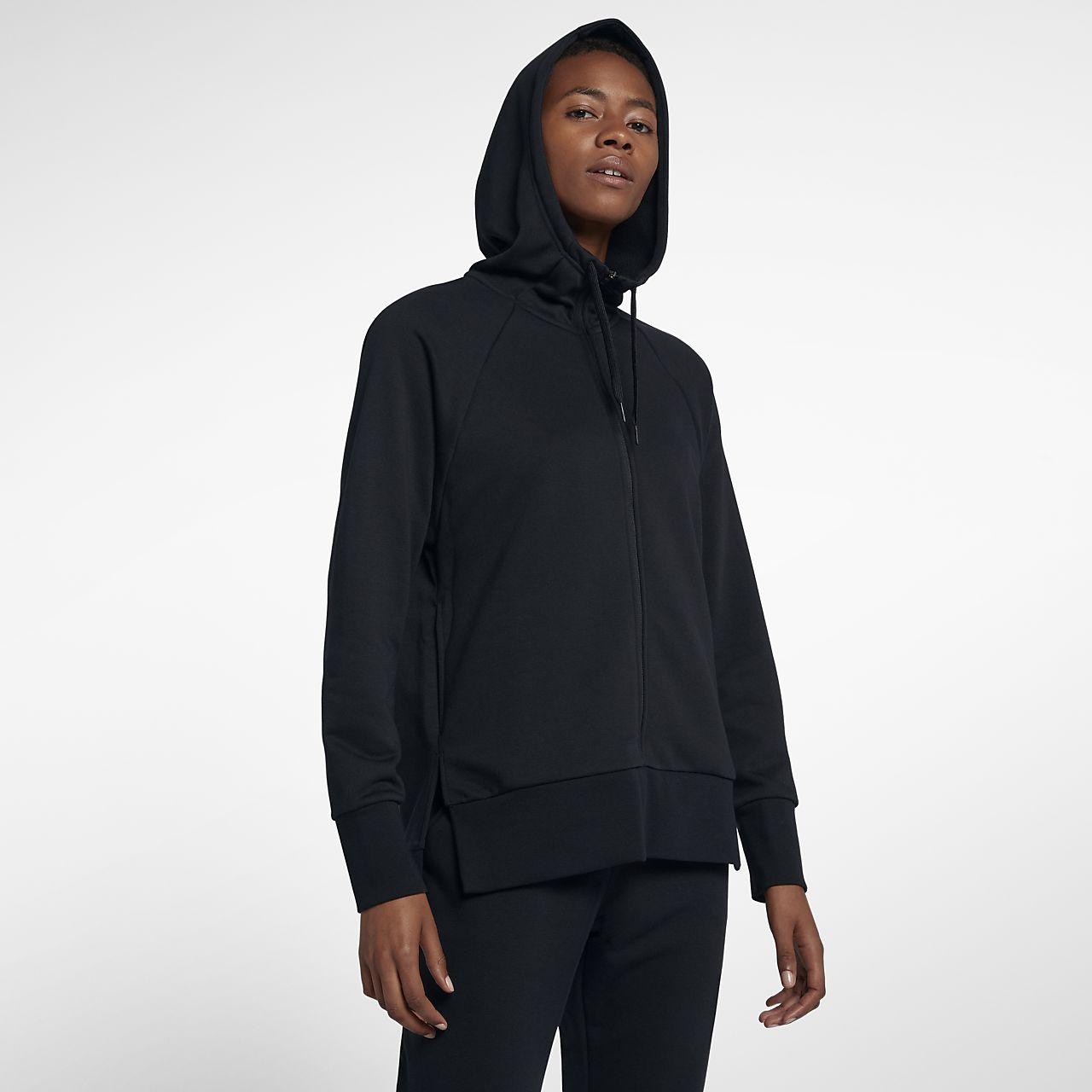 Felpa da running con cappuccio e zip a tutta lunghezza Nike