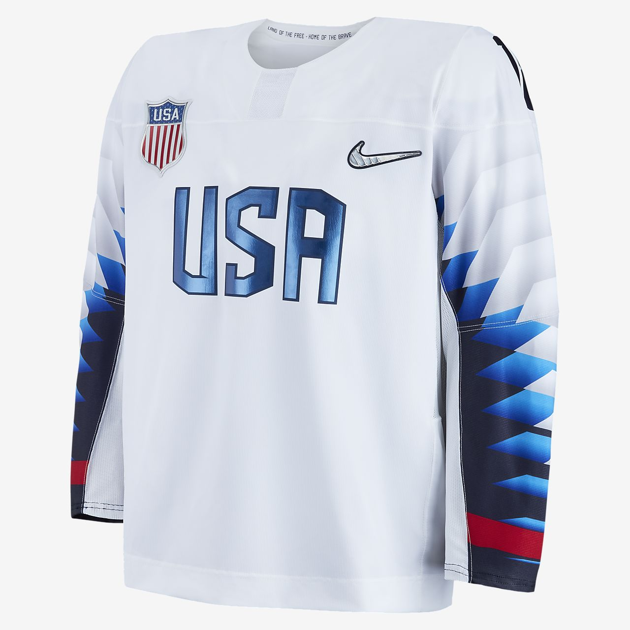 73ecf1a7522 Nike Team USA Replica Men s Hockey Jersey. Nike.com