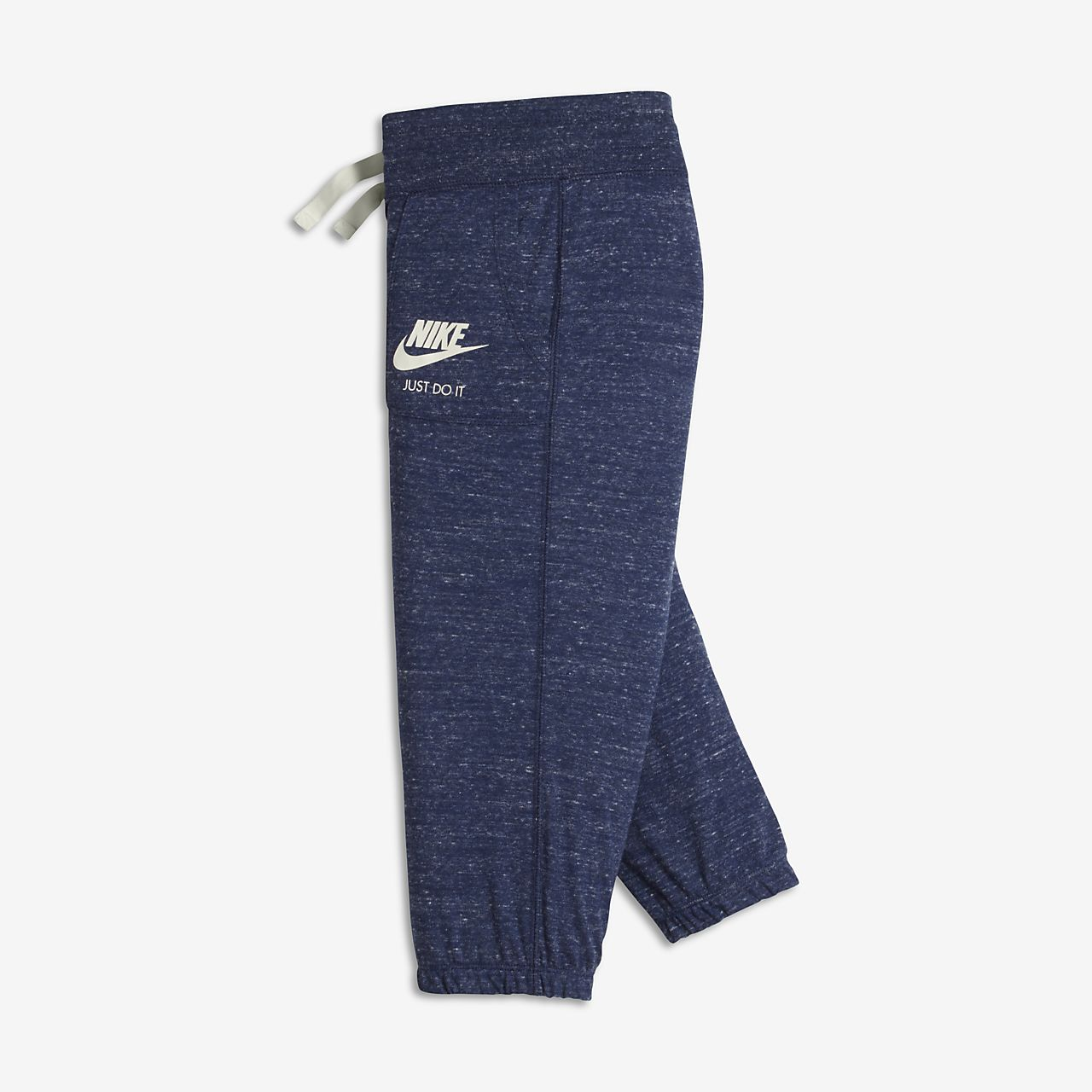 Nike Sportswear Gym Vintage Big Kids' Capris Binary Blue/Sail